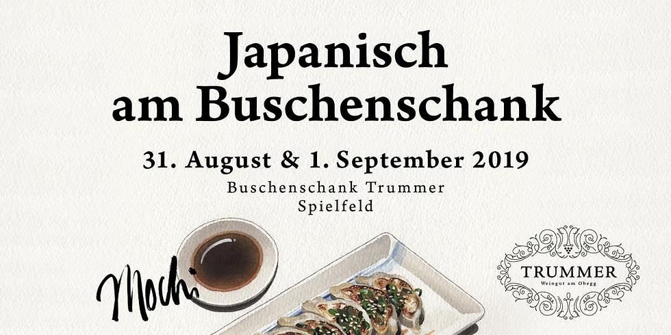 Japanisch am Buschenschank