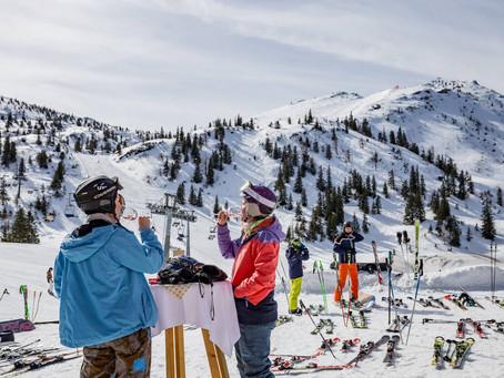 wine. ski. pleasure.