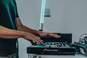 DJ in the office