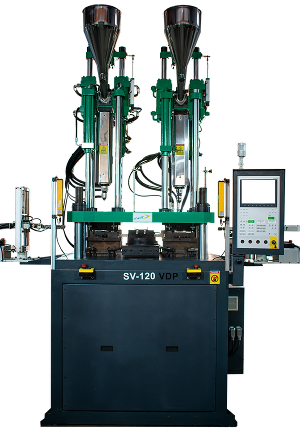 double Color Turret Type Vertical Injection Molding Machine | vertical injection molding machine