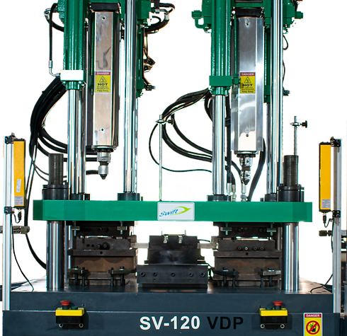 Double Color Vertical Injection Molding Machine