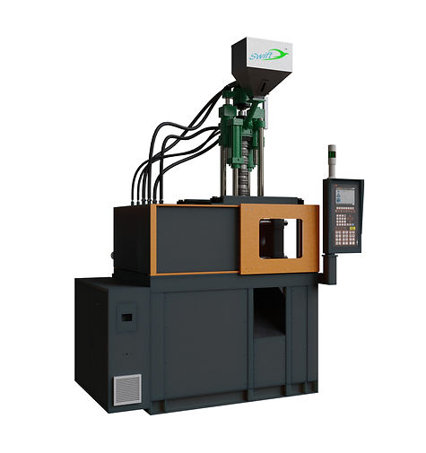 Horizontal Clamping Vertical Injection Type Molding Machine