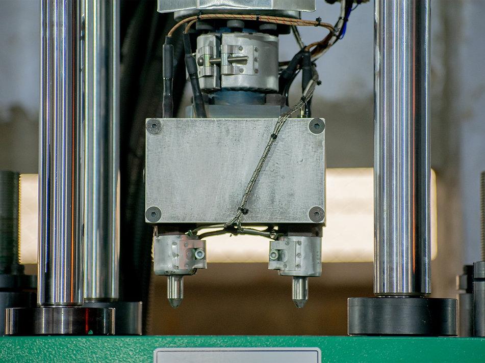 Double Nozzle | Multiple Heater | nozzle heaters | vertical injection molding machine