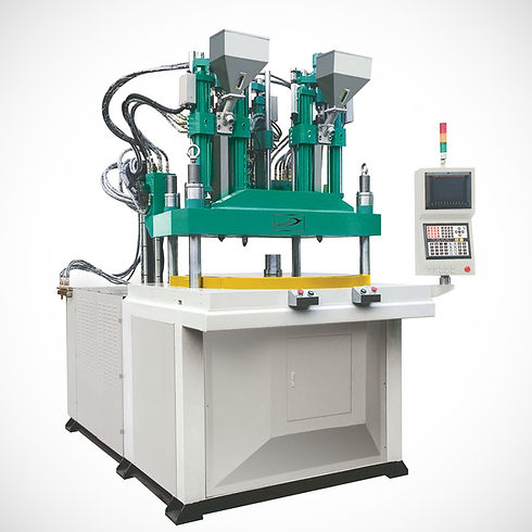 Double Color Rotary Type Vertical Injection Molding Machine