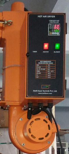 Hot air dryer Control Panel Image | Injection Molding Machine Auxiliary