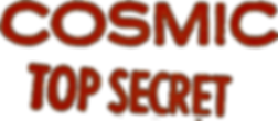 Cosmic Top Secret logo