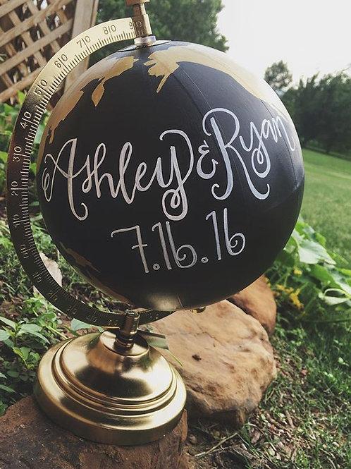 8in Custom Globe