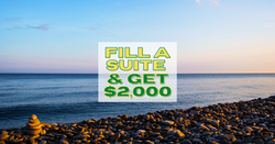 Fill a Suite, Get $2,000