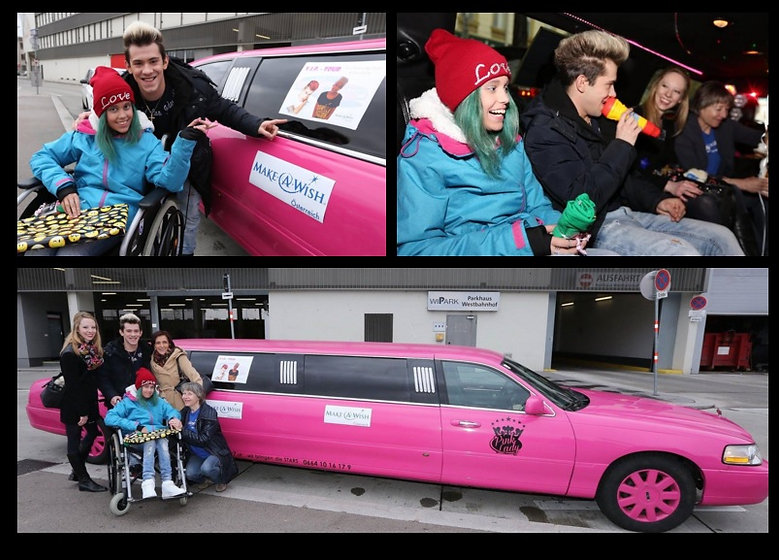 Stretchlimo Pink mieten