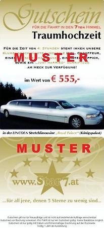 Limousinen Gutschein
