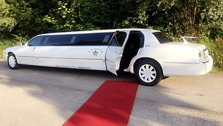 Stretchlimousine Roter Teppich