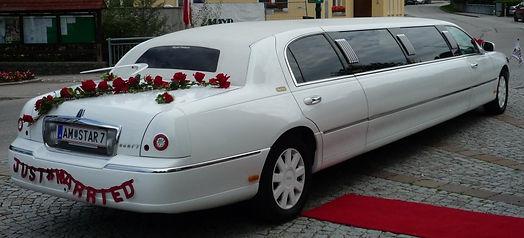 Hochzeitslimousine mieten Österreich