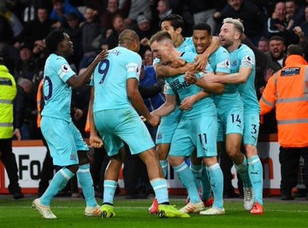 Ritchie sinks 12 man Bournemouth as Newcastle edge closer to safety