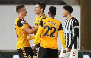 Wolves 2-1 Newcastle United