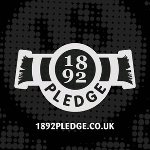 We support the 1892 Pledge campaign...