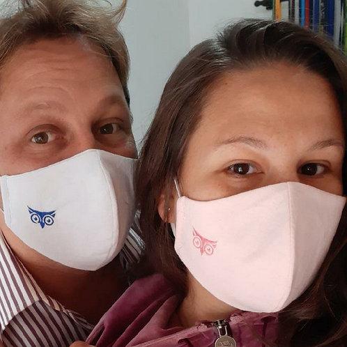 Máscara Bico de Pato 100% Algodão