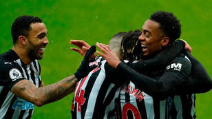 9 man Newcastle dig deep to hold on and gain first win in six at St James Park