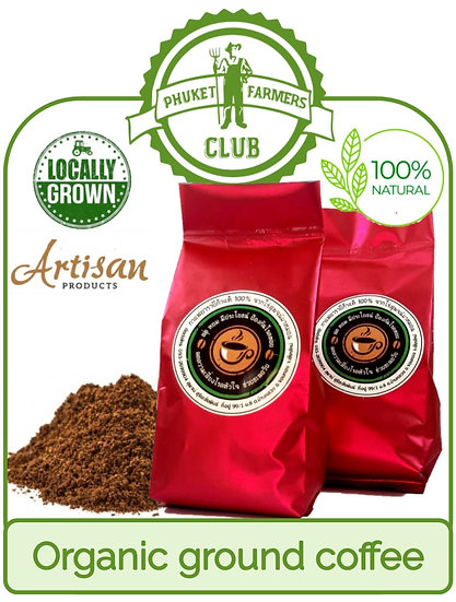 Local organic ground coffee (250g)