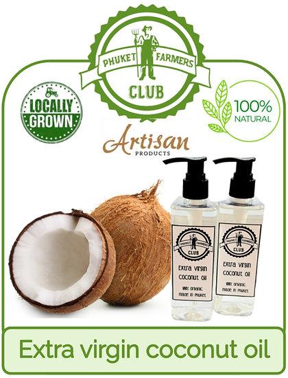 Huile de coco extra vierge (240 ml)