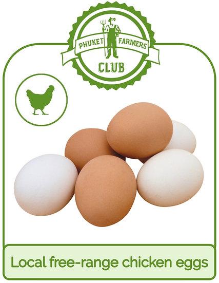 Local free-range chicken eggs (10 eggs)