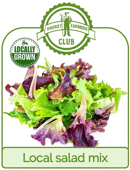 Local salad mix