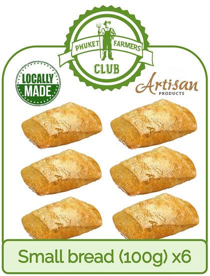 Small bread (100g) x6