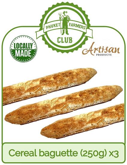 Cereal baguette (250g) x3