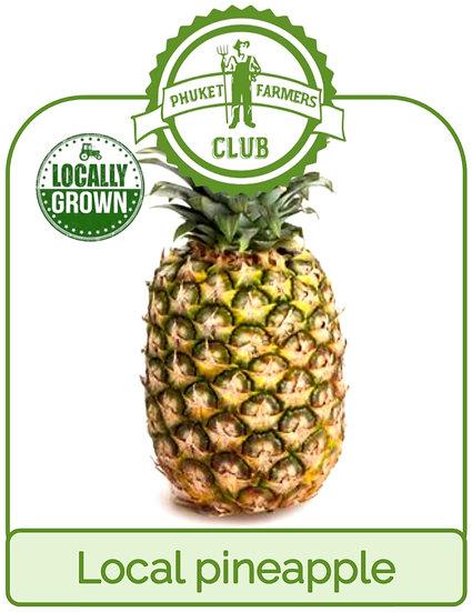Local pineapple