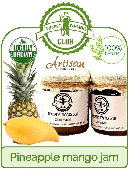 Pineapple mango jam