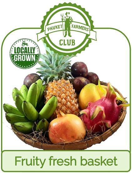 Fruity fresh basket (6 portions)