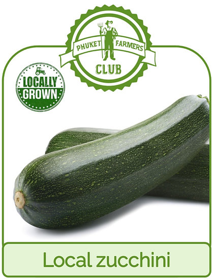 Local zucchini