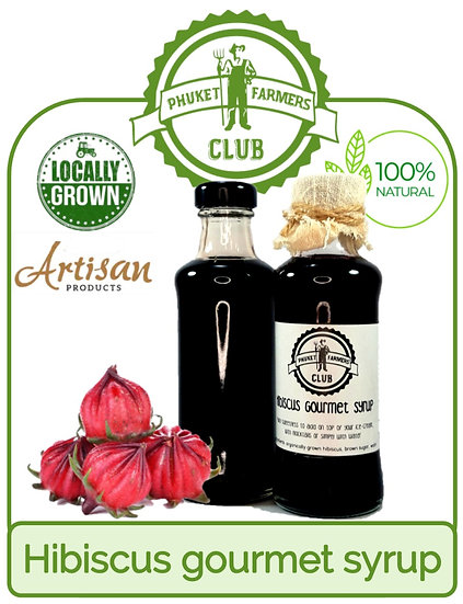 Hibiscus gourmet syrup (200ml)
