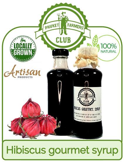 Sirop gourmet à l'hibiscus (200ml)