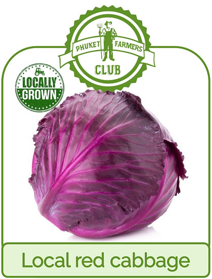 Local red cabbage