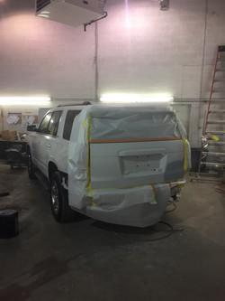 Caton Auto Body repair work