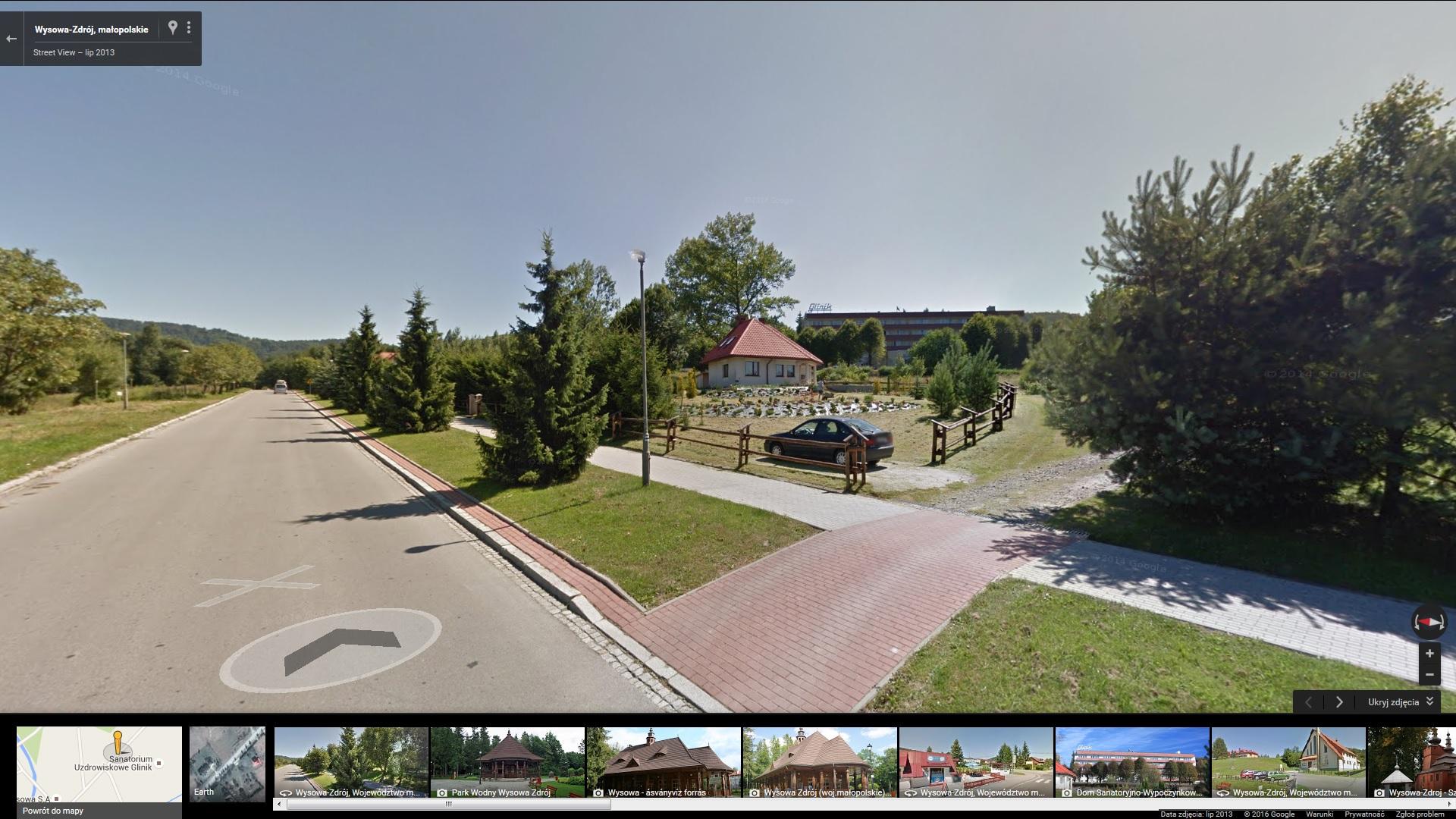 Google maps Sanatorium