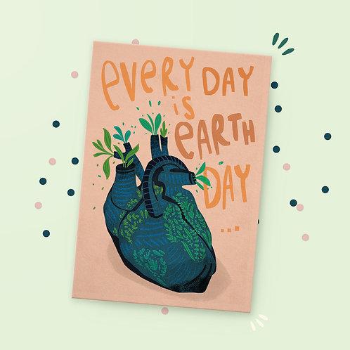 Postkarte »Earth Day«