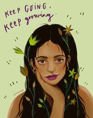 keep growing.