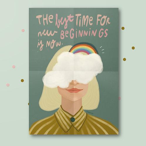 Print »new beginnings«