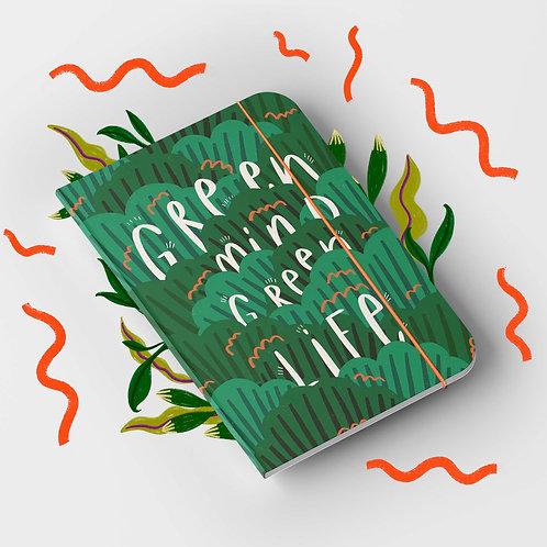 Notizbuch »Green Mind«