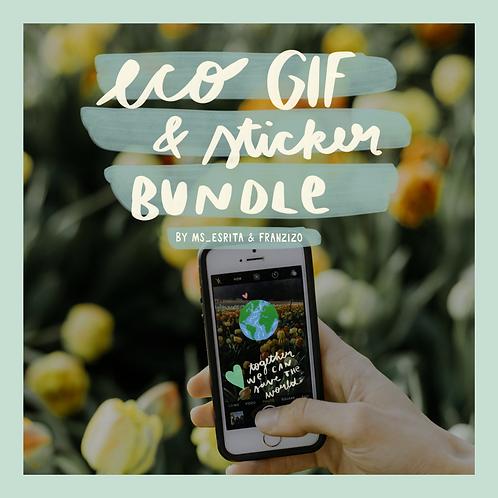 Eco GIF & Sticker Bundle