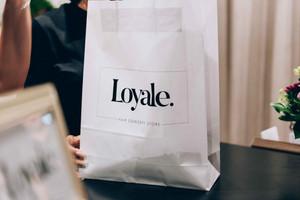 Branding für Loyale. Fair Concept Store