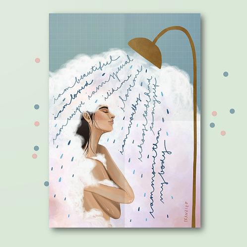 Print »Selfloveshower«