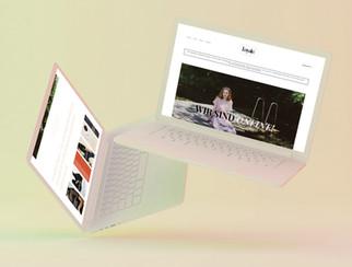 Website-Gestaltung und Onlineshop für Loyale. Fair Concept Store
