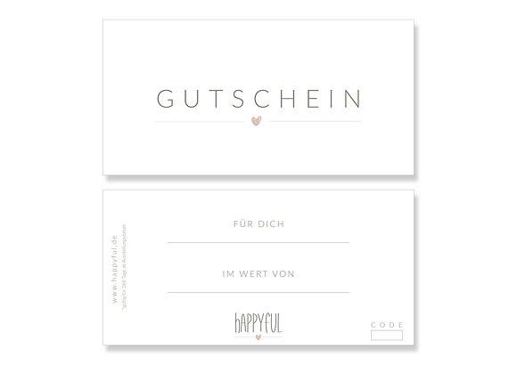 happyful Gutschein