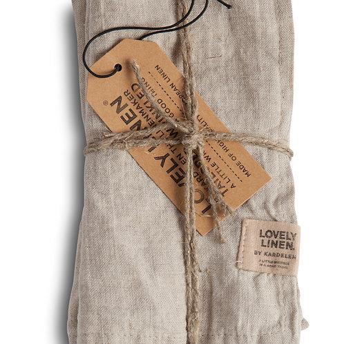 4er Set Leinenserviette Lovely Linen - Misty Meadow