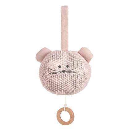 LÄSSIG Strick-Spieluhr Little Chums Mouse