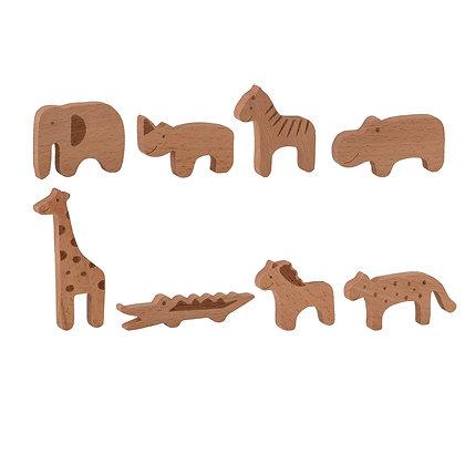 Holzspielzeugset Tierfarm 8-tlg