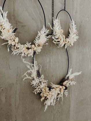 DIY Kit black - Dryed Flower Loop