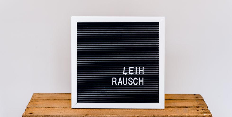 Letterboard - Quadrat